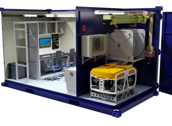 ROV control cabins