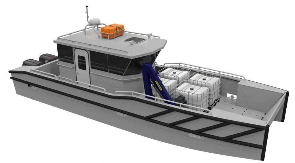 electric marine vessel